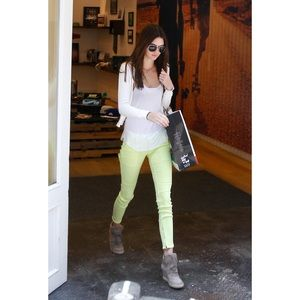 TEXTILE | Lime Slim Crosby Jeans - Size 29